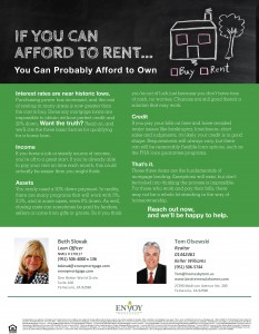 If you are Renting in Temecula or Murrieta you can Probably Afford to Own