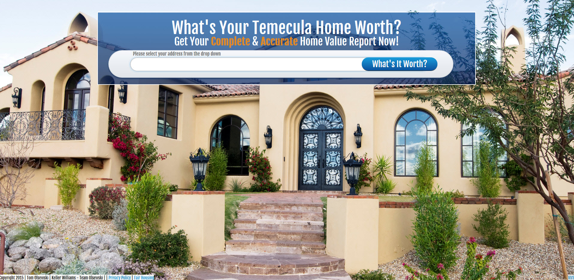 Temecula Home Value
